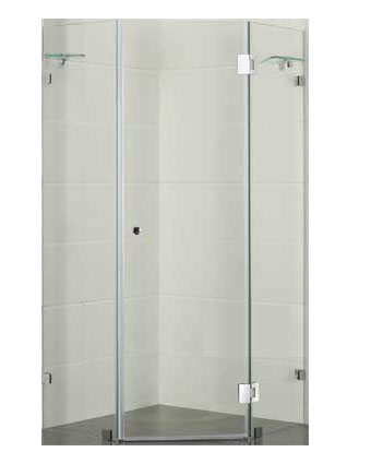 Diamond Shaped Frameless Shower Screens Australia