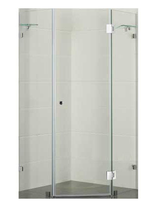 Diamond Shaped Frameless Shower Designs Australia