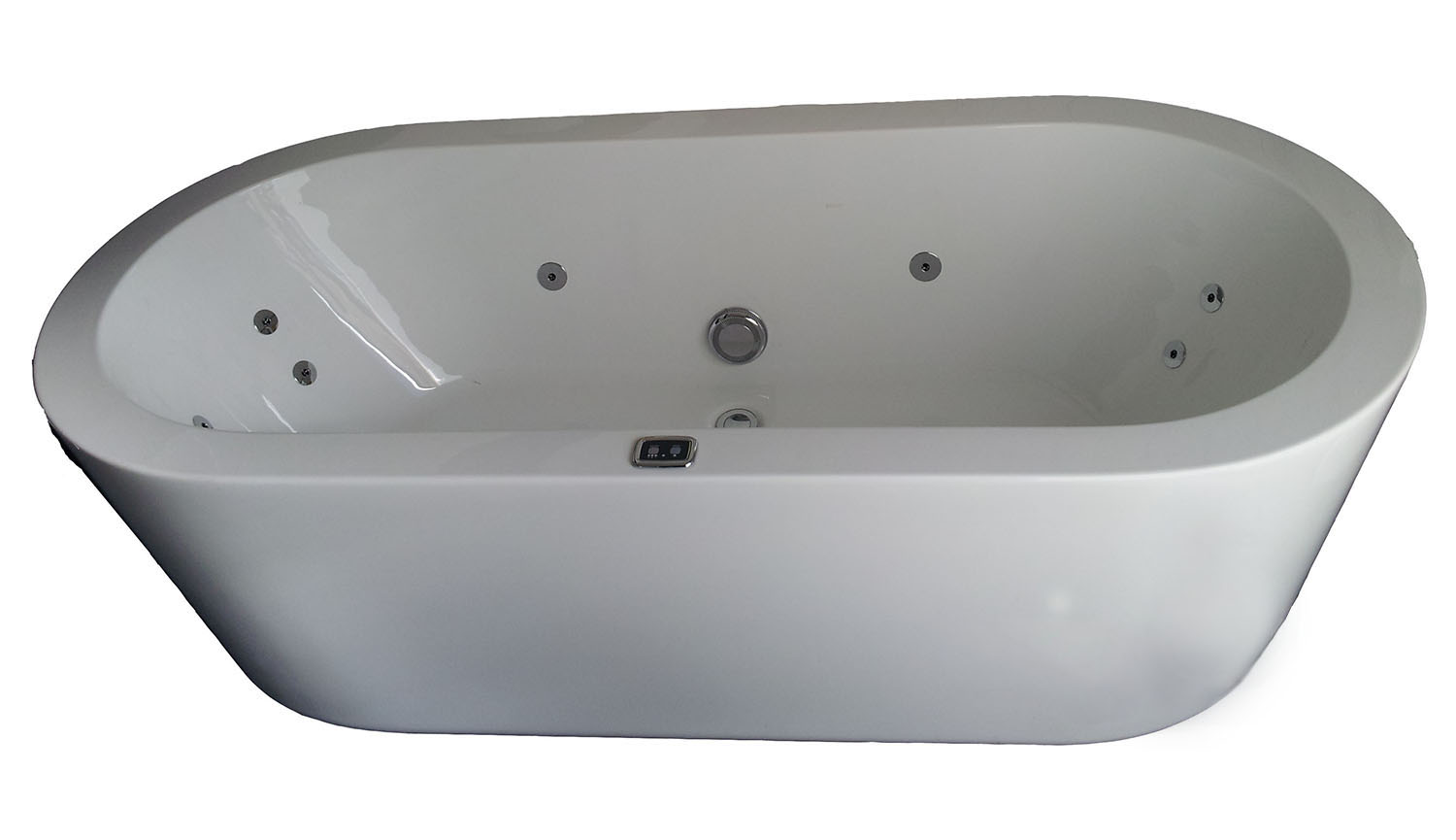Enza Spa Bath 1775 x 805 x 555