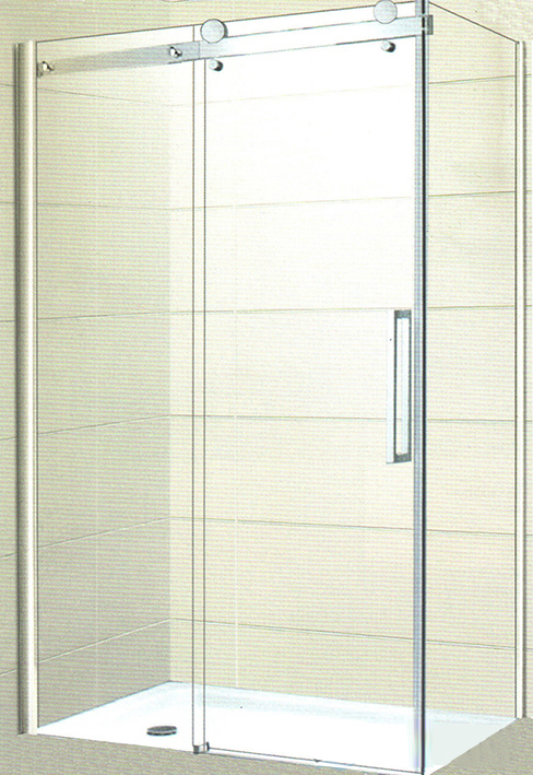 Frameless Rectangle Slider Shower Screens Australia