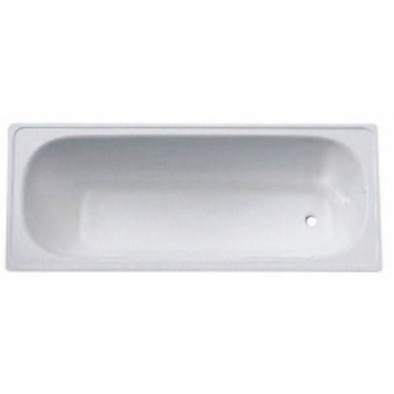 Steel Standard Bath with Procelain Coating 1500 x 700 x 390mm